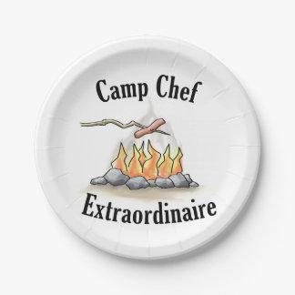 Camp Chef Extraordinaire Paper Plates