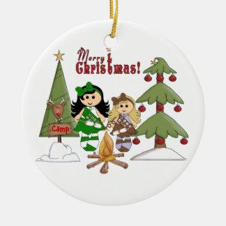 Camp Christmas Ornament