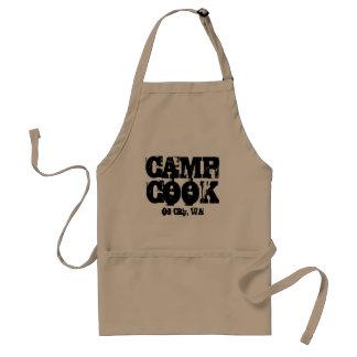 Camp Cook Oil City, WA Apron