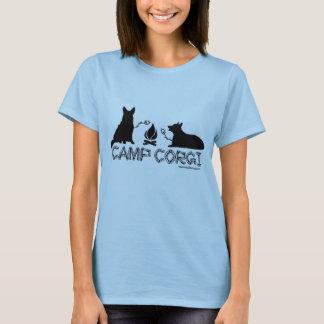 Camp Corgi Fitted T T-Shirt