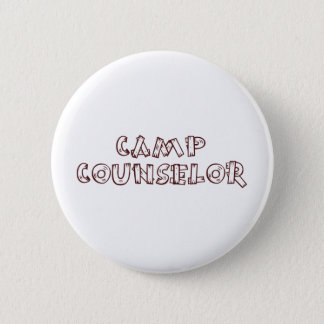 Camp Counselor 6 Cm Round Badge