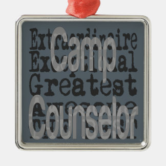Camp Counselor Extraordinaire Christmas Ornament
