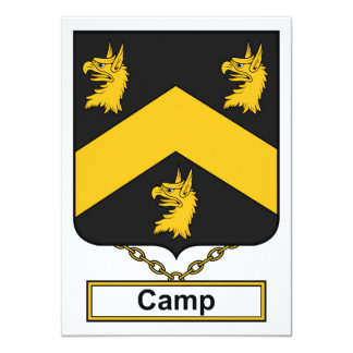Camp Family Crest Announcement