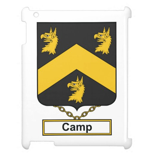 Camp Family Crest Case For The iPad