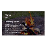 Camp Fires Double-Sided Standard Business Cards (Pack Of 100)