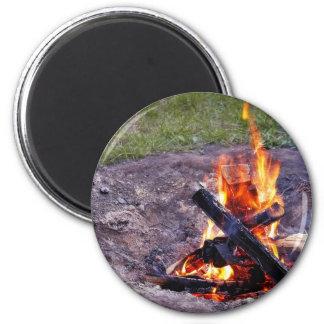 Camp Fires Magnet
