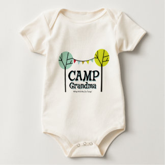 Camp Grandma Penants Baby Bodysuit