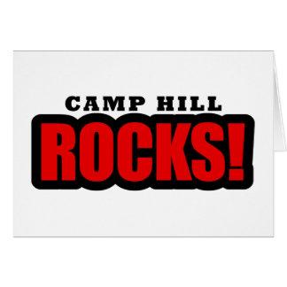Camp Hill, Alabama City Design Greeting Card