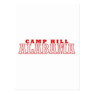 Camp Hill, Alabama City Design Postcard