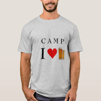 camp i heart beer T-Shirt