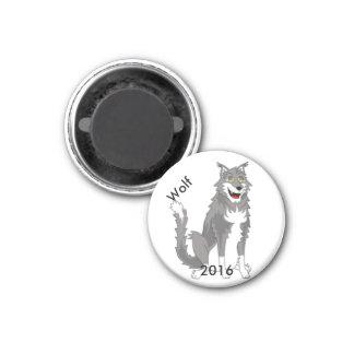 Camp Mars - 2016 Wolf magnet