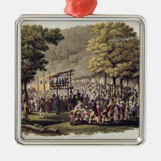 Camp Meeting of the Methodists in North Christmas Ornament
