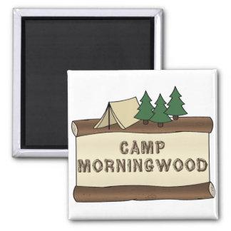 Camp Morningwood Magnet