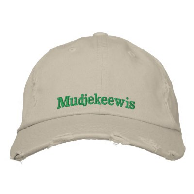 CAMP MUDJEKEEWIS CAP