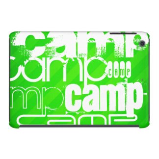 Camp; Neon Green Stripes iPad Mini Retina Case