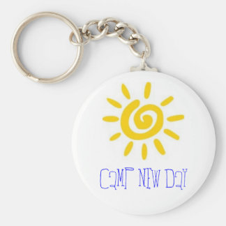 CAMP NEW DAY BASIC ROUND BUTTON KEY RING