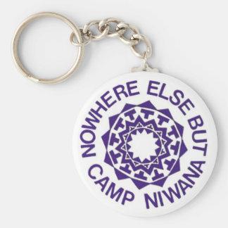 Camp Niwana Key Chain