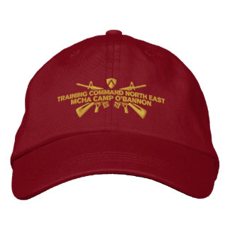 Camp O'Bannon Training Command Northeast Hat Embroidered Baseball Caps
