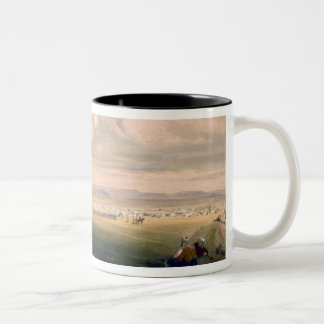 Camp of the Light Division, plate from 'The Seat o Two-Tone Coffee Mug