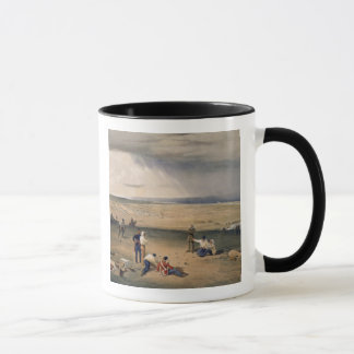 Camp of the Third Division, plate from 'The Seat o Mug