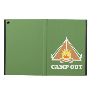 Camp out iPad air cover