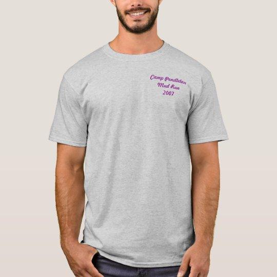Camp Pendleton Mud Run 2007 T-Shirt