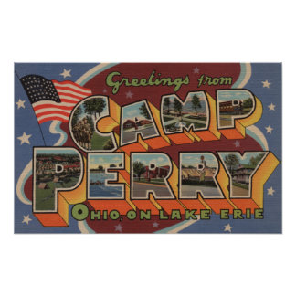 Camp Perry, Ohio - Lake Erie Poster