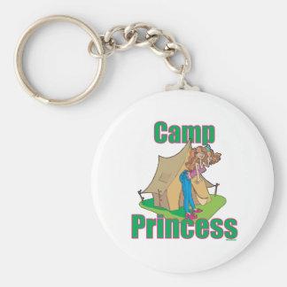 CAMP-Princess Basic Round Button Key Ring