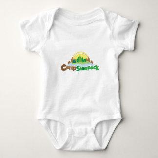 Camp Shamrock Logo Baby Bodysuit