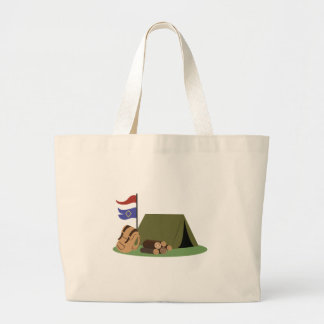 Camp Site Jumbo Tote Bag