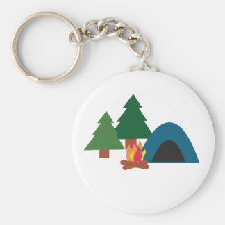 Camp Site Key Chains