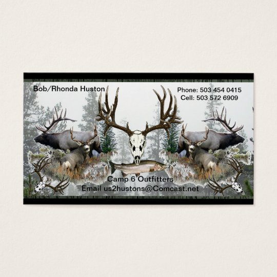 Camp Six Outfitters with Steelhead 2 Business Card
