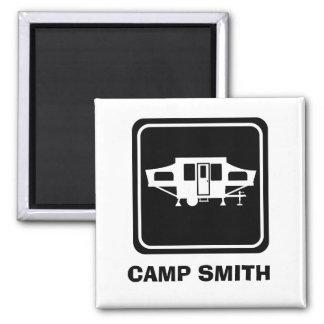 Camp Smith Camper Magnet