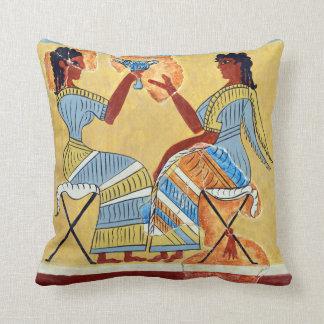 camp stool fresco priestesses talking replica anci cushion