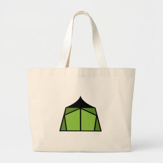 Camp Tent Tote Bags