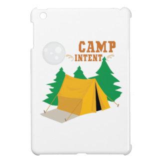 Camp Tent iPad Mini Cases