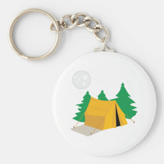 Camp Tent Key Chain