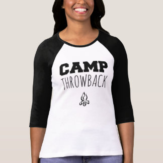 Camp Throwback Logo Women's 3/4 Sleeve Shirt