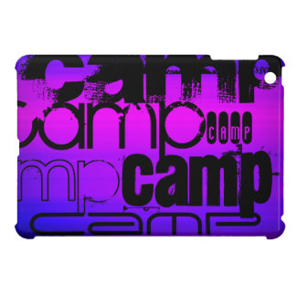 Camp; Vibrant Violet Blue and Magenta. Cover For The iPad Mini