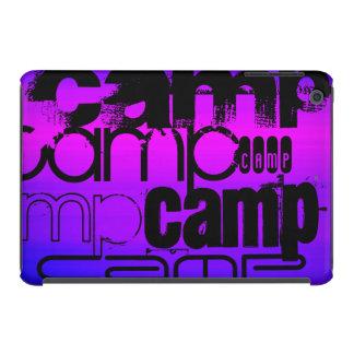 Camp; Vibrant Violet Blue and Magenta. iPad Mini Retina Case