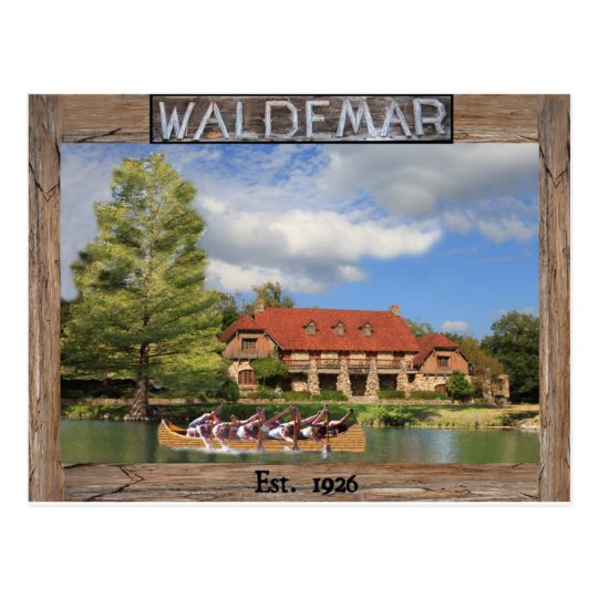 Camp Waldemar Postcard