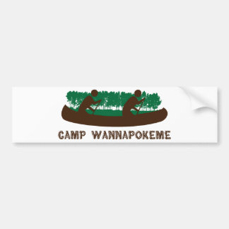 Camp Wannapokeme Bumper Sticker