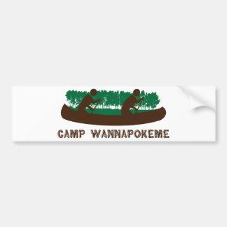 Camp Wannapokeme Bumper Sticker