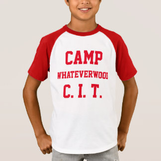 Camp Whateverwood CIT T-Shirt