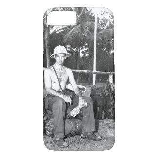 "Camp ""Y"". Captain Derby_War Image iPhone 7 Case"