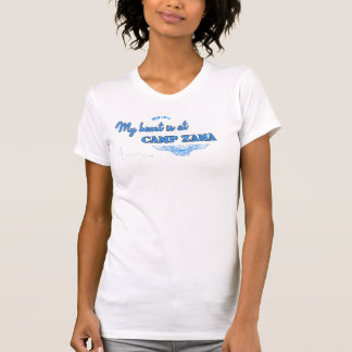 Camp Zama Design Blue T-Shirt
