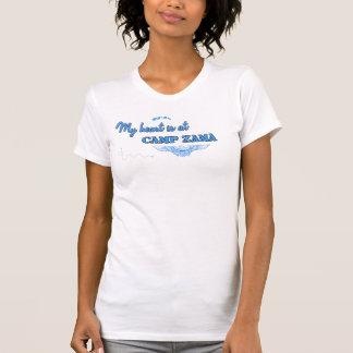 Camp Zama Design Blue Tshirts