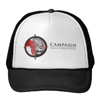 Campaign Against Canned Hunting trucker hat