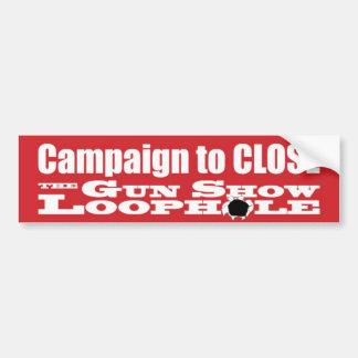 Campaign Bumper Sticker