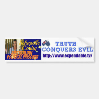 Campaign for injustice bumper stickers